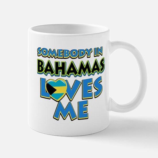 Somebody in Bahamas Loves me Mug