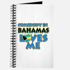 Somebody in Bahamas Loves me Journal