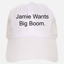 Jamie Wants Big Boom Baseball Baseball Cap