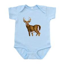 White Tail Deer Buck Infant Bodysuit