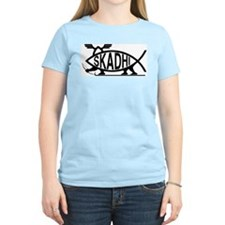 Skadhi Fish Women's Pink T-Shirt