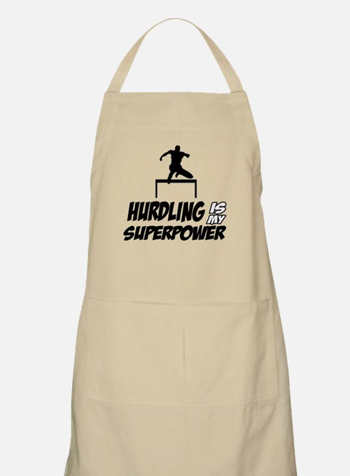 hurdling is my superpower Apron