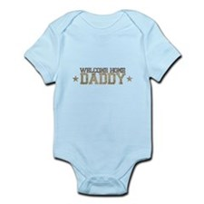 Welcome Home ARMY Daddy Body Suit