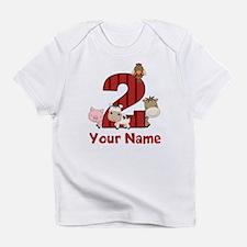 2nd Birthday Farm Infant T-Shirt