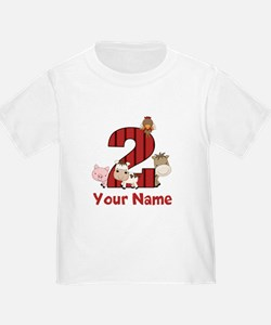 2nd Birthday Farm T-Shirt
