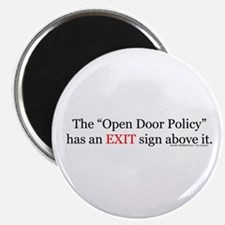exit sign Magnets