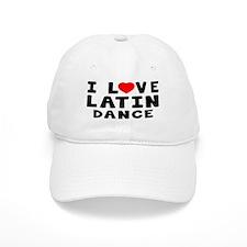 I Love Latin Baseball Cap
