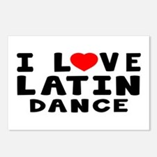 I Love Latin Postcards (Package of 8)