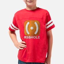 rssholedark Youth Football Shirt