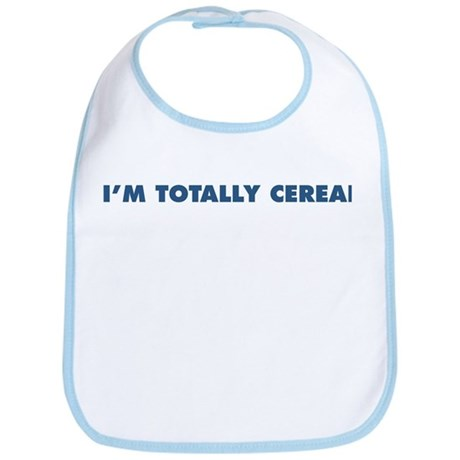 "The ""I'm Totally Cereal"" Line Bib"