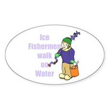 Ice fishermen 3 Decal