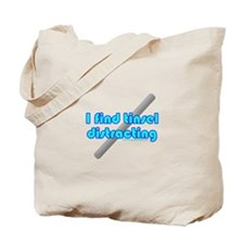 Dark I Find Tinsel Distractin Tote Bag