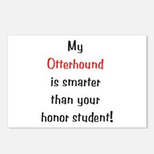 My Otterhound is smarter... Postcards (Package of
