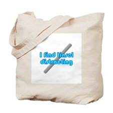 I Find Tinsel Distracting Tote Bag