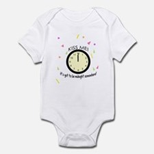 Kiss Me! New Year's Infant Bodysuit