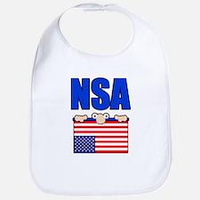 NSA peering eyes Bib
