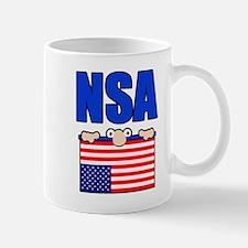 NSA peering eyes Mug