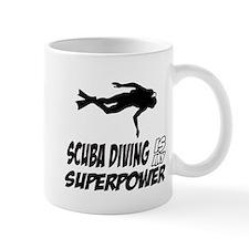 scuba diving is my superpower Mug