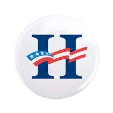 """Hillary 3.5"""" Button (100 pack)"""