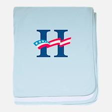 Hillary baby blanket