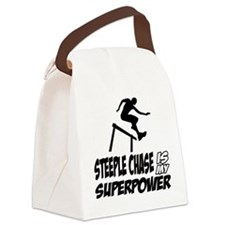 steeple chase is my superpower Canvas Lunch Bag