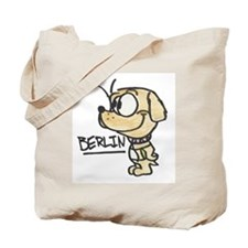 Berlin the Guide Dog Tote Bag