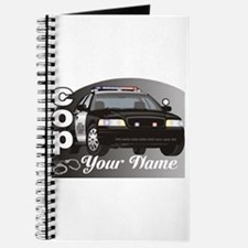Custom Personalized Cop Journal