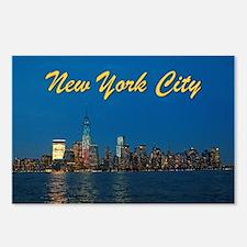 Night Lights! New York City Pro photo Postcards (P