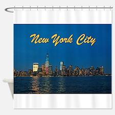 Night Lights! New York City Pro photo Shower Curta