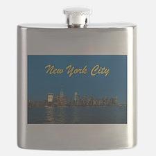 Night Lights! New York City Pro photo Flask