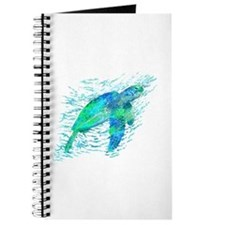 Sea Turtle Graphic Journal