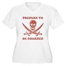 Prepare To Be Boarded Plus Size T-Shirt