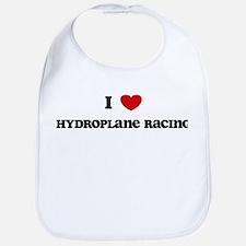 I Love Hydroplane Racing Bib