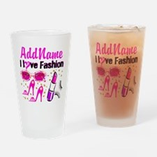 LOVE FASHION Drinking Glass