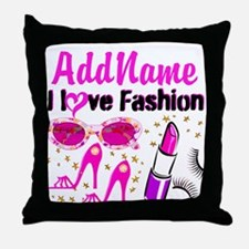 LOVE FASHION Throw Pillow
