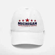Michigan U.S.A. Baseball Baseball Cap