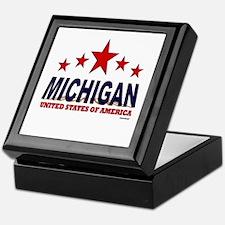 Michigan U.S.A. Keepsake Box