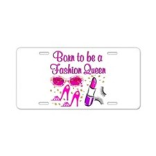 MS FASHION Aluminum License Plate