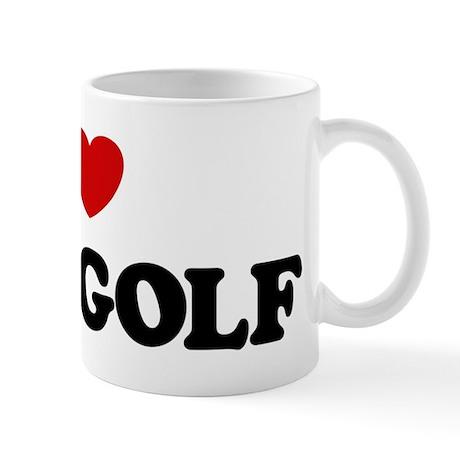 I Love Disc Golf Mug