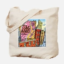 Funny Comic strip Tote Bag