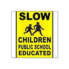 SLOW CHILDREN SIGN Sticker