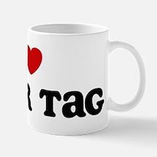 I Love Laser Tag Mug