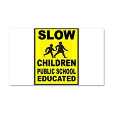 SLOW CHILDREN SIGN Car Magnet 20 x 12