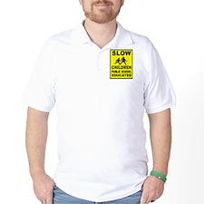 SLOW CHILDREN SIGN T-Shirt