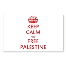 KEEP CALM AND FREE PALESTINE Decal