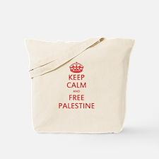KEEP CALM AND FREE PALESTINE Tote Bag