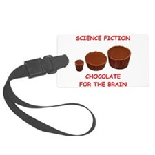 science fiction Luggage Tag