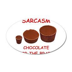 sarcasm Wall Decal