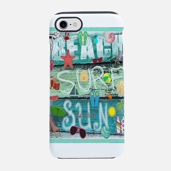 Beach Iphone 7 Tough Case