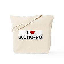 I Love Kung-Fu Tote Bag
